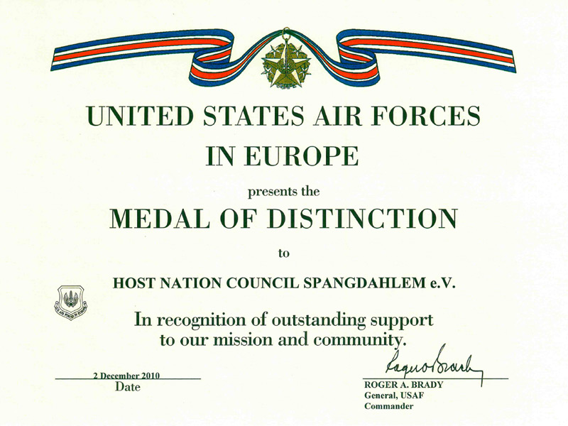 Medal of Distinction